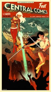 Central Comics Fest-Metrópoles Delirantes