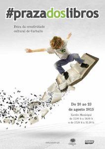 Praza dos libros-Metrópoles Delirantes